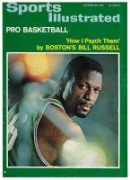 Sports Illustrated, October 25, 1965 - Bill Russell