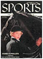 Sports Illustrated, October 31, 1955 - Pamela Phillips, National Horse Show