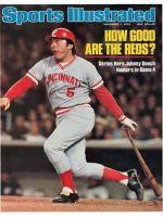 Sports Illustrated, November 1, 1976 - Johnny Bench, Cincinnati Reds