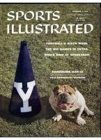 Sports Illustrated, November 5, 1956 - Yale Bulldog