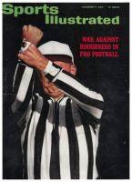 Sports Illustrated, November 11, 1963 - Referee; Texas Football