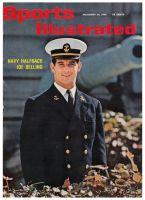 Sports Illustrated, November 28, 1960 - Joe Bellino, Navy football