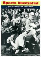Sports Illustrated, December 12, 1966 - Boston Patriots Fullback Jim Nance