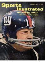 Sports Illustrated, December 17, 1962 - Frank Gifford, NY Giants football