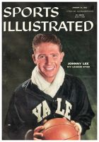 Sports Illustrated, January 21, 1957 - Johnny Lee, (Yale)