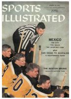 Sports Illustrated, January 28, 1957 - Boston Bruins