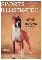 Sports Illustrated, February 11, 1957 - Champion Boxer, (dog)