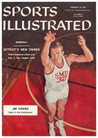 Sports Illustrated, February 18, 1957 - Jim Krebs SMU Basketball