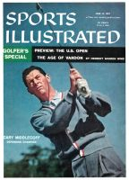Sports Illustrated, June 10, 1957 - Cary Middlecoff, (Golf)