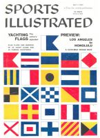 Sports Illustrated, July 1, 1957 - Yachting Flags