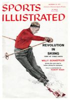 Sports Illustrated, November 25, 1957 - Revolution in Skiing