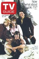 TV Guide, January 4, 1969 - Cast of 'Here Comes the Brides'