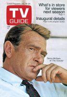 TV Guide, January 18, 1969 - Darren McGavin of 'The Outsider'
