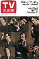 TV Guide, January 24, 1970 - Tom Jones