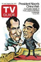 TV Guide, February 19, 1972 - President Nixon's China Visit