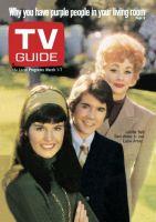 TV Guide, March 1, 1969 - Lucille Ball, Desi Arnaz Jr. and Lucie Arnaz