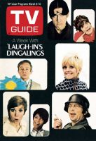 TV Guide, March 8, 1969 - A Week with 'Laugh-in's Dingalings