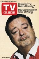 TV Guide, March 21, 1970 - Jackie Gleason