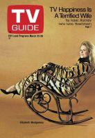 TV Guide, March 22, 1969 - Elizabeth Montgomery