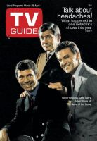 TV Guide, March 29, 1969 - Tony Franciosa, Gene Barry, Robert Stack of 'The Name of the Game'