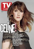 TV Guide, March 30, 2002 - Celine Dion