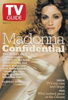 TV Guide, April 11, 1998 - Madonna