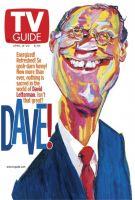 TV Guide, April 14, 2001 - David Letterman