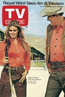 TV Guide, April 25, 1970 - Raquel Welch and John Wayne in her first TV special