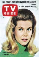 TV Guide, May 13, 1967 - Elizabeth Montgomery of 'Bewitched'