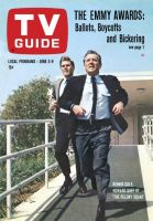 TV Guide, June 3, 1967 - Dennis Cole, Howard Duff of 'The Felony Squad'