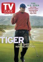 TV Guide, June 9, 2001 - Tiger Woods