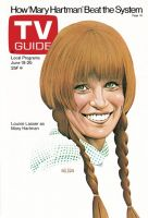 TV Guide, June 19, 1976 - Louise Lasser as 'Mary Hartman'