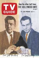 TV Guide, July 1, 1967 - The Hollywood Wife