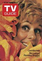 TV Guide, July 1, 1972 - Carol Burnett