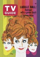 TV Guide, July 15, 1967 - Lucille Ball: Redhead with the Golden Touch