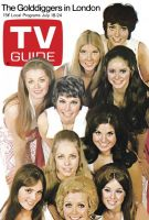 TV Guide, July 18, 1970 - The Golddiggers in London