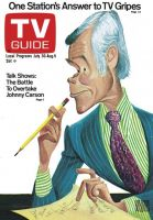 TV Guide, July 30, 1977 - Johnny Carson