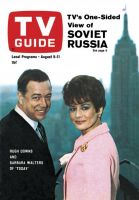 TV Guide, August 5, 1967 - Hugh Downs and Barbara Walters of 'Today'