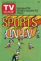 TV Guide, August 19, 1978 - Sports on TV