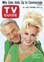 TV Guide, September 2, 1967 - Eddie Albert and Eva Gabor of 'Green Acres'