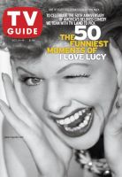 TV Guide, October 13, 2001 - Lucy