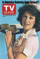 TV Guide, October 23, 1976 - Linda Lavin of 'Alice'
