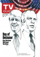 TV Guide, October 30, 1976 - Jimmy Carter and Gerald Ford
