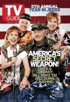 TV Guide, January 5, 2002 - Carol Burnett Show Cast