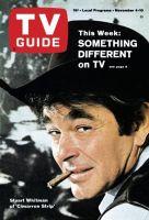 TV Guide, November 4, 1967 - Stuart Whitman of 'Cimarron Strip'