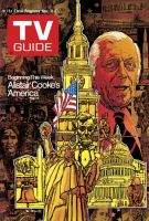 TV Guide, November 11, 1972 - Alistair Cooke's 'America'