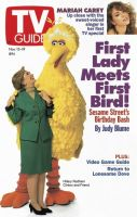 TV Guide, November 13, 1993 - Hillary Meets Big Bird