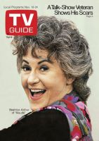 TV Guide, November 18, 1972 - Beatrice Arthur of 'Maude'
