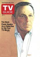 TV Guide, November 19, 1977 - Frank Sinatra