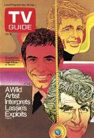 TV Guide, November 25, 1972 - Doug McClure, Tony Franciosa, Hugh O'Brian of 'Search'